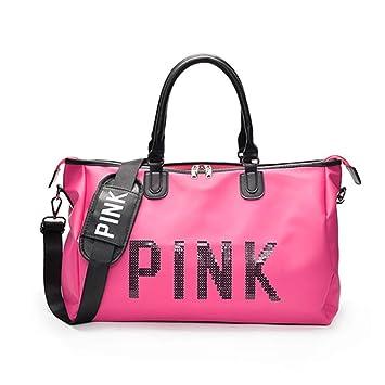 Bolsa de Hombro portátil al Aire Libre de Color Rosa Bolsas ...
