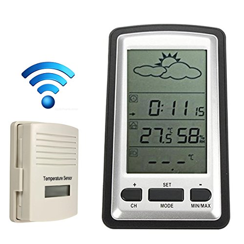 Weather Channel Thermometer, Professional Wireless Weathe...