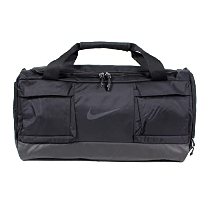 57054d4289 Amazon.com: Nike Vapor Medium Duffel, Black/Black/Black, Misc ...
