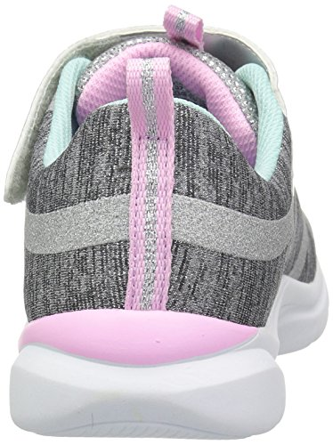Skechers Kids Girls' Trainer LITE- Jazzy Jumper Sneaker, GYMT, 13 Medium US Little by Skechers (Image #2)
