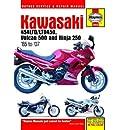 Kawasaki EN450, 500 Twins & Ninja 250, 1985-2007 (Motorcycle Repair Manual)