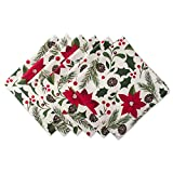 DII 100% Cotton, Machine Washable, Oversized Holiday 20x20