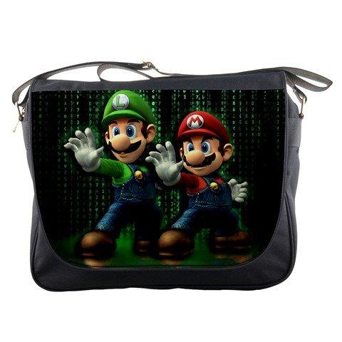 Super Mario And Luigi Nintendo Games Retro Messenger Bag ...