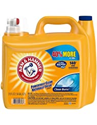 Arm & Hammer Laundry Detergent He, Clean Burst, 210 Ounce