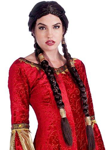 Medieval Maiden Wig Costume (Maiden Wig)