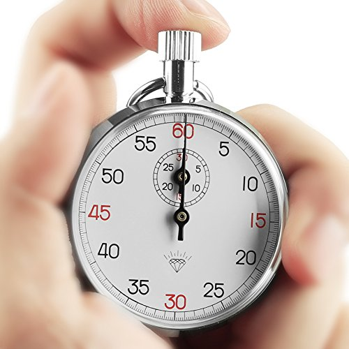 OneTigris Mechanical Stopwatch Analog Chronometer