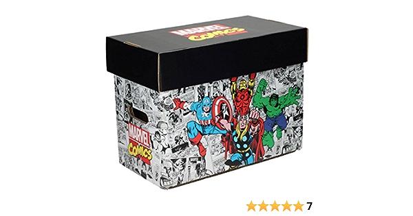 SD Toys SDTMAR20693 - Caja Para con diseño Comics Marvel: Amazon.es: Oficina y papelería