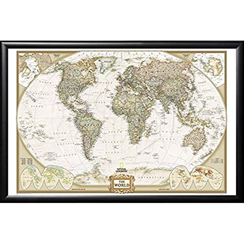Pin map amazon push pin map national geographic world map with push pins premium matte black frame gumiabroncs Image collections