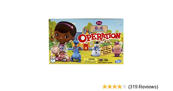You Choose Operation Doc McStuffins Edition Parts and Pieces Only