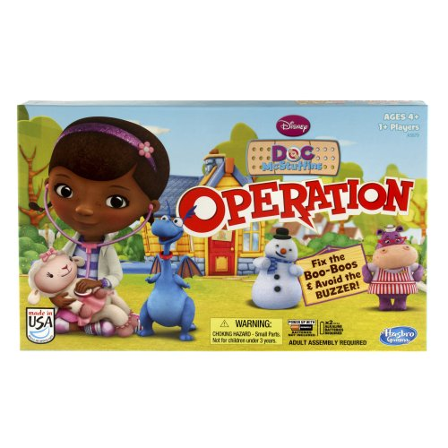 Disney Doc McStuffins Operation Game -