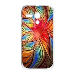 Motorola G Phone Case peacock pattern Q6A1158068