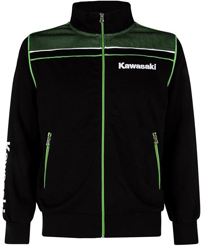 Kawasaki Sports Sweatshirt Jacke Neu Bekleidung