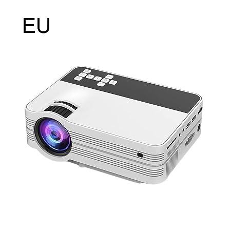 heresell Mini proyector UB-10 con Interfaz de TV para el ...