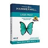 Hammermill Printer Paper, Laser Print Copy Paper, 24lb, 8.5 x 11, Letter, 98 Bright - 1 Pack / 500 Sheets (104604R)
