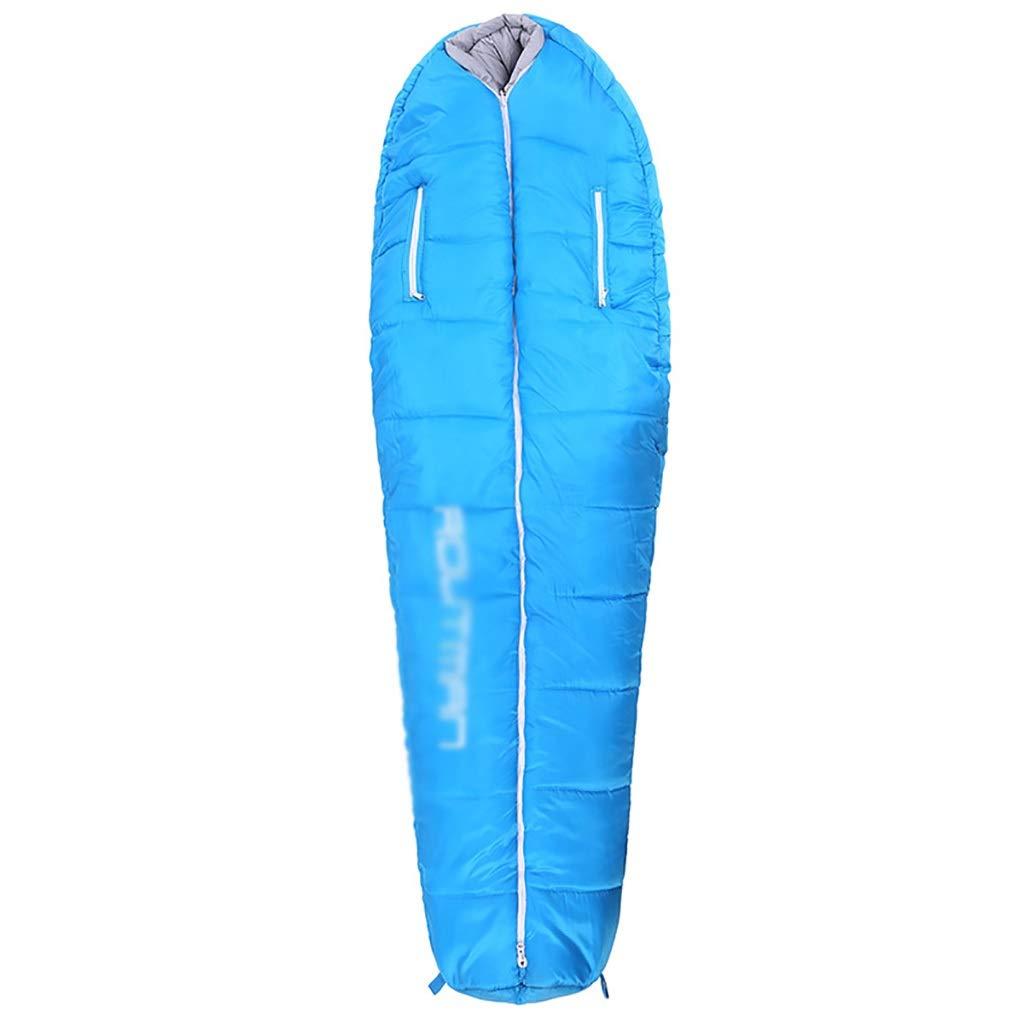 屋外用寝袋 寝袋快適温度スケール-5°C-5°C、屋内、屋外、旅行、ハイキング、キャンプ用 (色 : B) B07PQQ79R5 B
