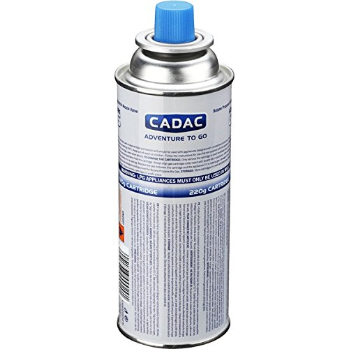 Cadac Adventure To Go.Valve Gas Cartridge 220g Cadac Amazon Co Uk Sports Outdoors