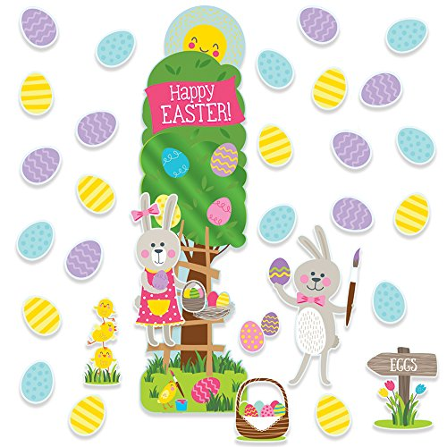 Eureka Easter School and Classroom Door Décor Kit, 32pc