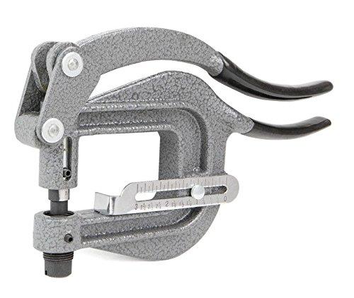 Deep Throat Power Punch Portable Hand Sheet Metal Rivet Hole Auto Body Tool by Jikkolumlukka (Image #3)