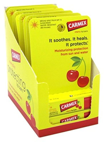 carmex-click-stick-moisturizing-lip-balm-spf-15-cherry-015-oz-pack-of-12