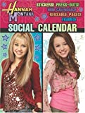Hannah Montana Social Calendar, Modern Publishing, 0766628124
