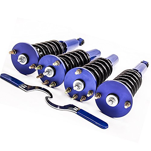 Coilovers Strut for Honda Accord 2003-2007/Acura TSX 2004-2008 Assembly Suspension Coil Spring Shock Absorber Height Adjustable ()