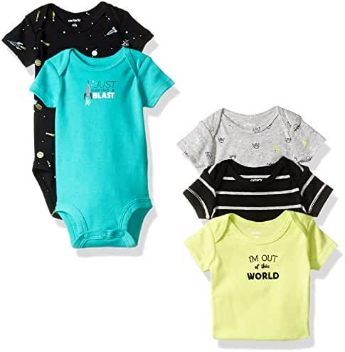 Carter's Baby Boys 5-Pack Out Of This World Bodysuits