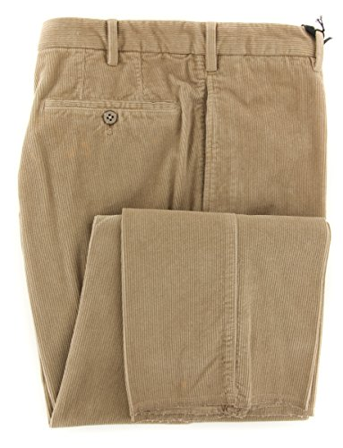 cesare-attolini-caramel-brown-solid-pants-slim-30-46