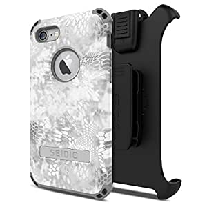 Seidio Dilex Kryptek Combo with Kickstand for iPhone 7 (Yeti)