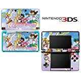 Sailor Moon Pretty Guardian Decorative Video Game Decal Cover Skin Protector for Nintendo 3Ds (not 3DS XL)