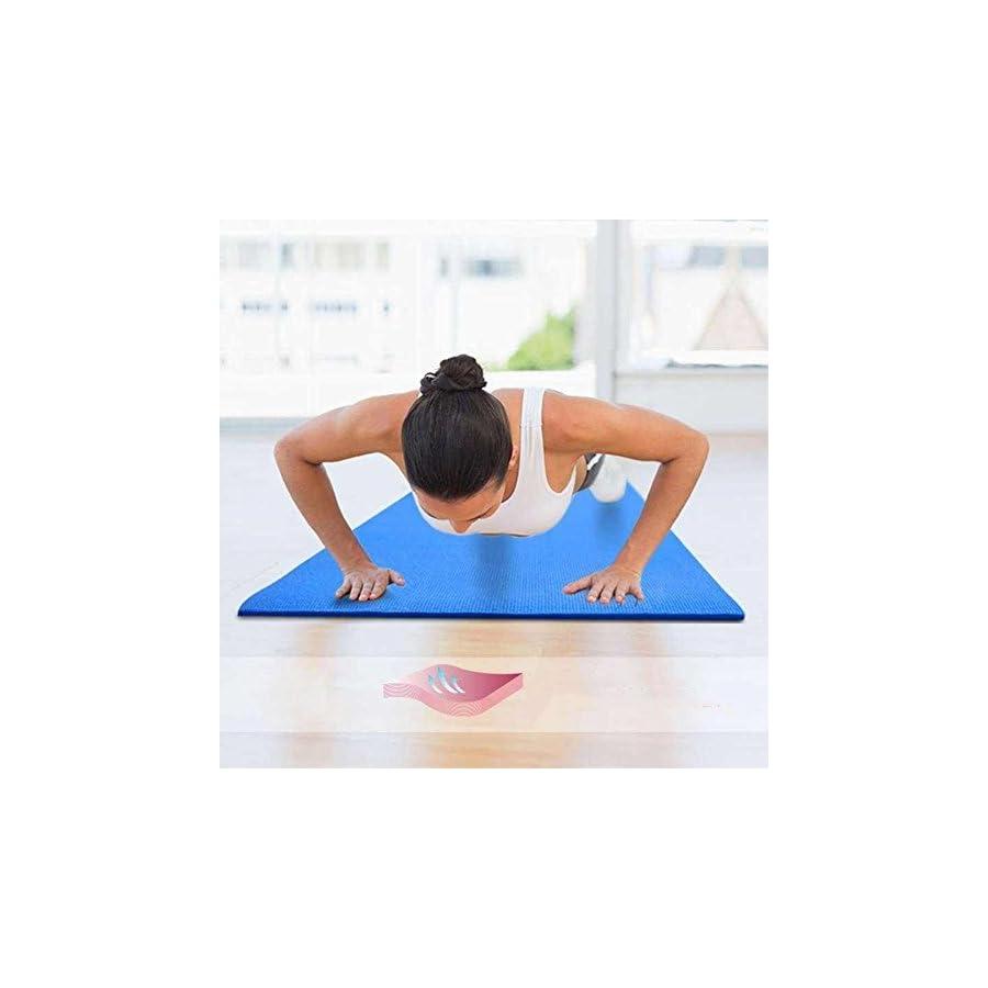 Oalas Extra Thick 71 Inch Long NBR Soft Comfort Beginner Training Foam Indoor Outdoor Yoga Exercise Mat Pilates