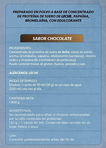 Whey Protenium chocolate | Proteína de suero de leche + ...