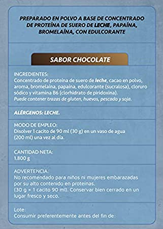 Just Podium Whey Protenium Chocolate - 1800 gr: Amazon.es: Salud y cuidado personal