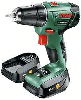 94c7c2e8829 Bosch Perceuse-visseuse sans fil PSR 1440 LI-2 à 2 vitesses