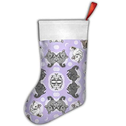 chinchillas purple christmas stockings gift card bags holdersbulk personalized treats for neighbors coworkers kids