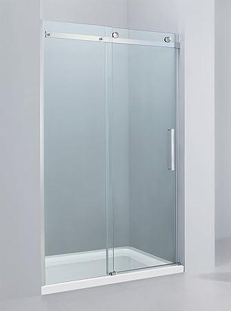 Yellowshop - Mampara de ducha con puerta corredera reversible de ...