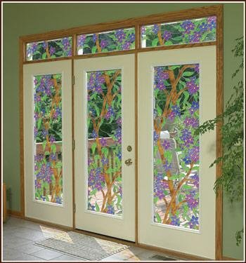 Wallpaper For Windows Biscayne See-Thru Stained Glass Dec...