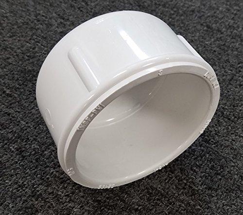 Schedule 40 PVC Pipe Slip Cap (4