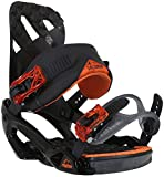 Salomon Snowboards Rhythm Snowboard Binding - Men's Black/Orange, L