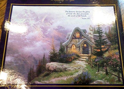 Thomas Kinkade Sweetheart Cottage III Jigsaw -