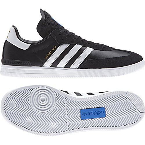 Adidas Mænd Samba Adv Skater Sko Sort (negbas / Ftwbla / Azucie) ztHAUFH0T