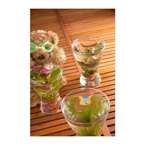 Ikea Vasen amazon com ikea vasen vase clear glass 20 cm home kitchen