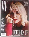 W Magazine (August 2017) Charlize Theron Cover
