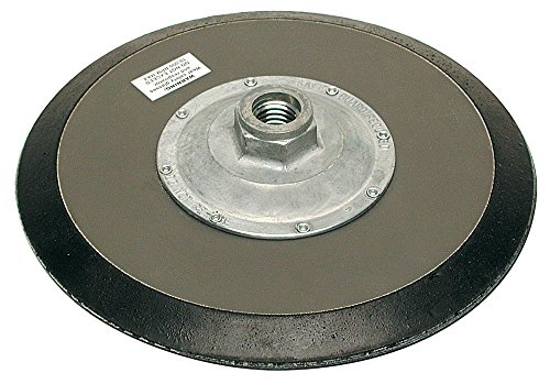 MK Diamond 155968 11 Nut Hard Rubber Backplate Disc with 5/8