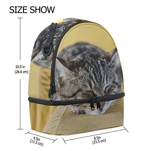 ajustable pincnic correa con Alinlo dormir escuela para de el hombro para almuerzo con de aislamiento Bolsa de la para gato vwFvqPHxz