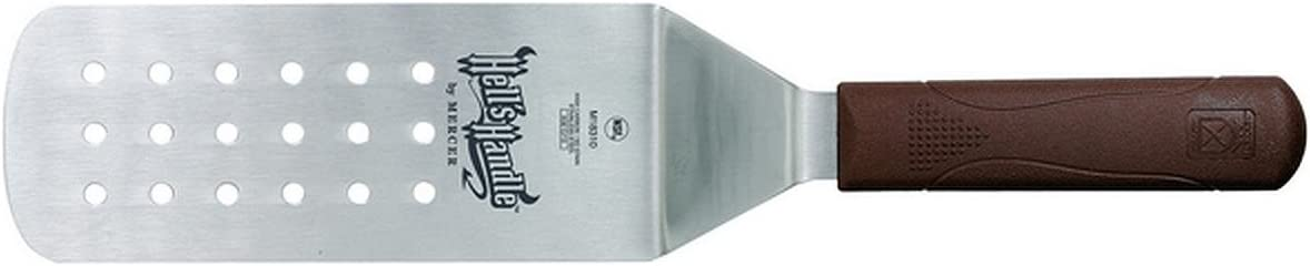 """Mercer Hell's Handles Grill Spatula - Heat Resistant 14.25"""" Perforated"""