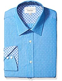 Men's Steam Slim Fit Dress Shirt