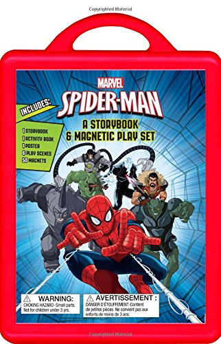 Spider-Man: A Storybook Book and Magnetic Play (Movie Stars Dress Up)
