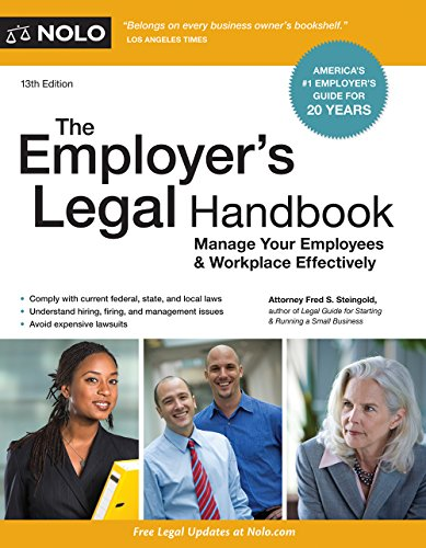 Employer's Legal Handbook