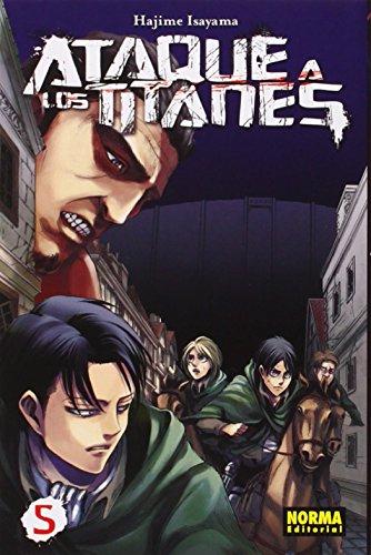Descargar Libro Ataque A Los Titanes 5 Hajime Isayama