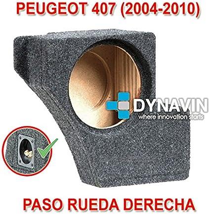 Dynavin Peugeot 407 (2004-2010). Rueda Derecha - Caja ACUSTICA ...
